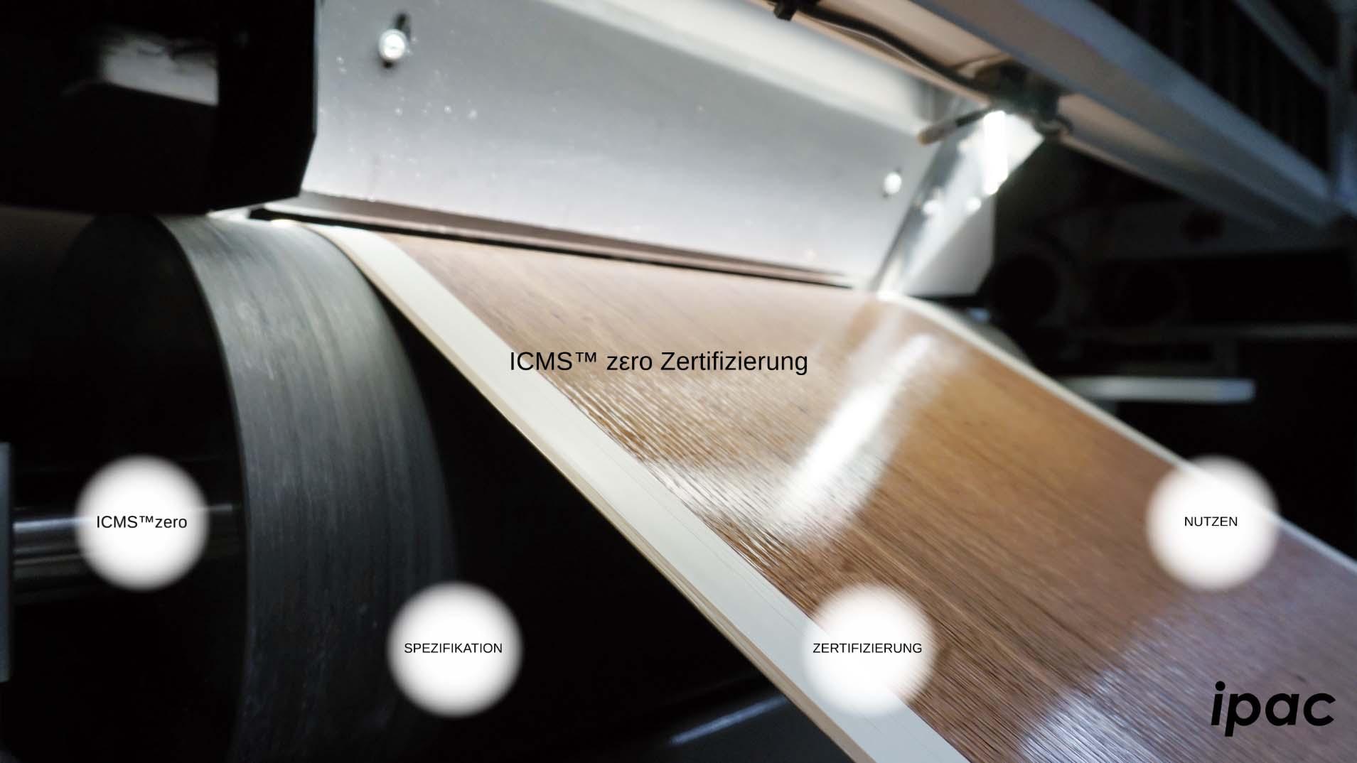ICMS™zεro-Zertifizierung