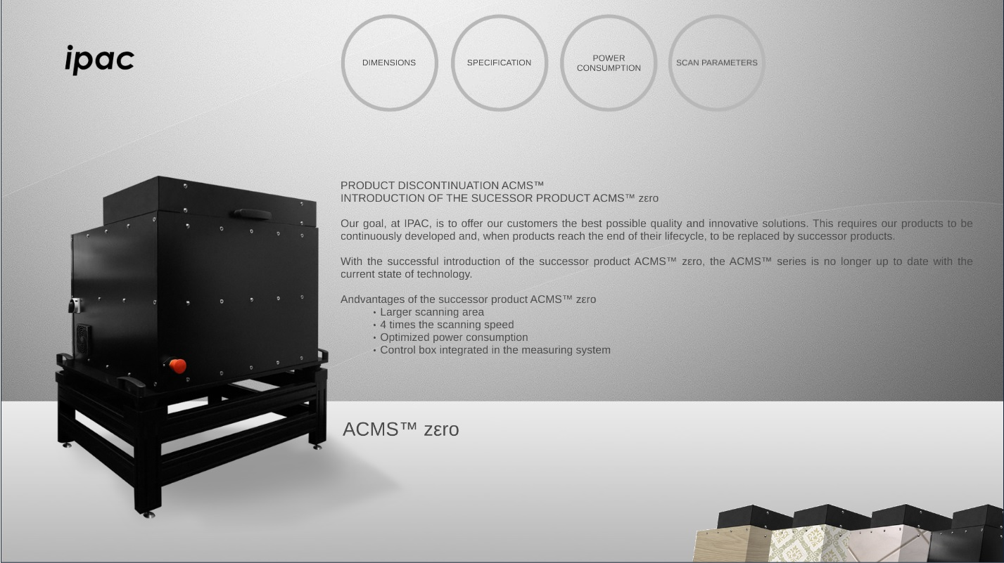 Product Discontinuation ACMS™