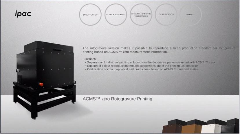 ACMS™zεro-Rotogravure Printing